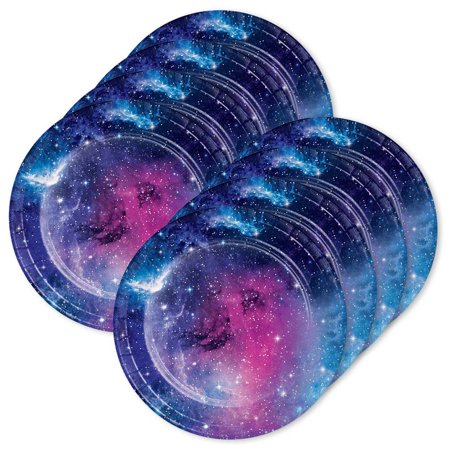 Galaxy Party Supplies (Galaxy Party Plates 7 Dessert Plates)
