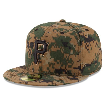 8404d3eb44b Pittsburgh Pirates New Era 2016 Memorial Day 59FIFTY Fitted Hat - Digital  Camo - Walmart.com