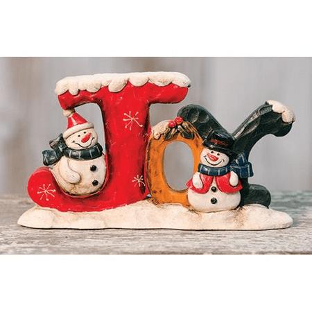 Joyous Snowman (Joy Resin Snowman Standing)