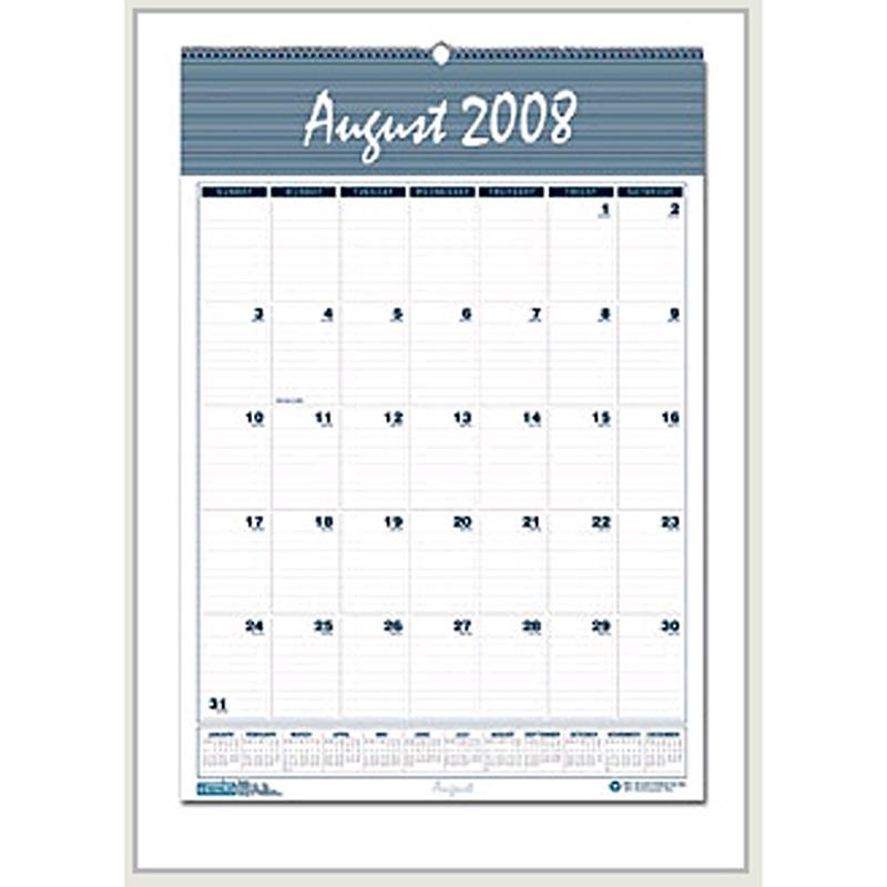 BAR HARBOR ACADEMIC WALL CALENDAR