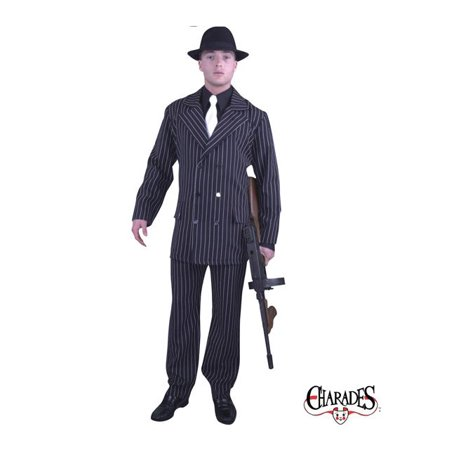 Adult Gangster Double Breasted Suit Costume