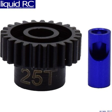 - Hot Racing NSG25M06 25t Steel Mod 0.6 Pinion Gear 5mm