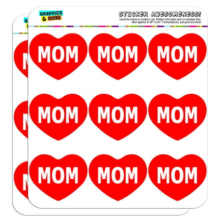 I Love Heart - Places Things - Mom - 2