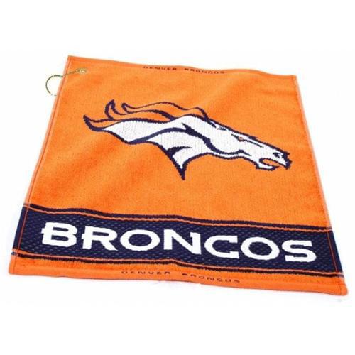 Team Golf 30880 Denver Broncos Woven Golf Towel