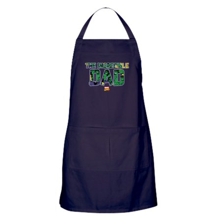 CafePress - Hulk Dad - Kitchen Apron with Pockets, Grilling Apron, Baking Apron