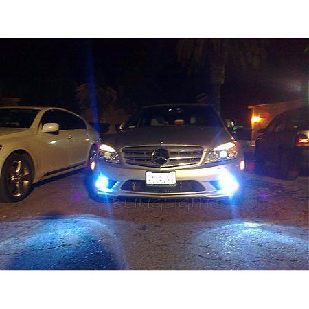 2008 2009 2010 Mercedes C300 Luxury Sedan Led Fog Lights Driving Lamps Foglamps Foglights C 300 W204