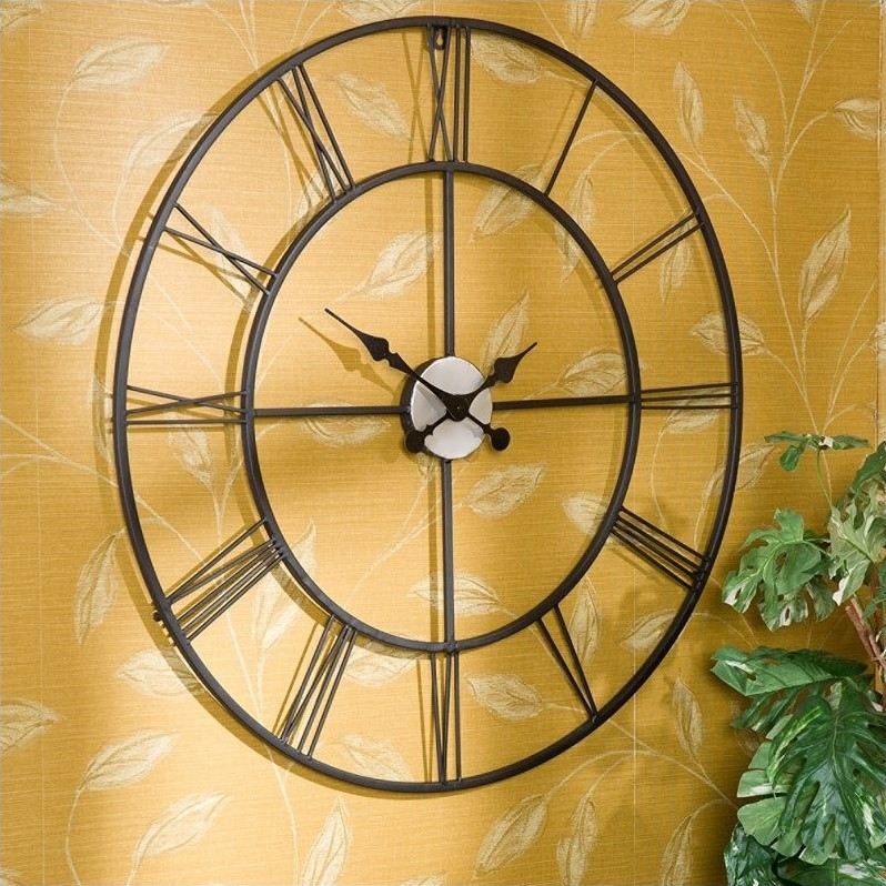 Southern Enterprises Empire Decorative Wall Clock