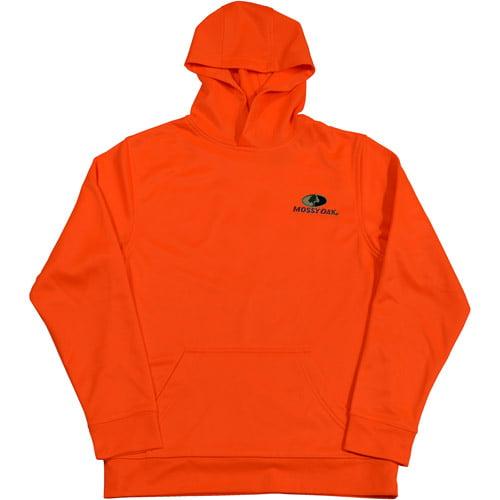 Mossy Oak Youth Hoodie, Blaze Orange