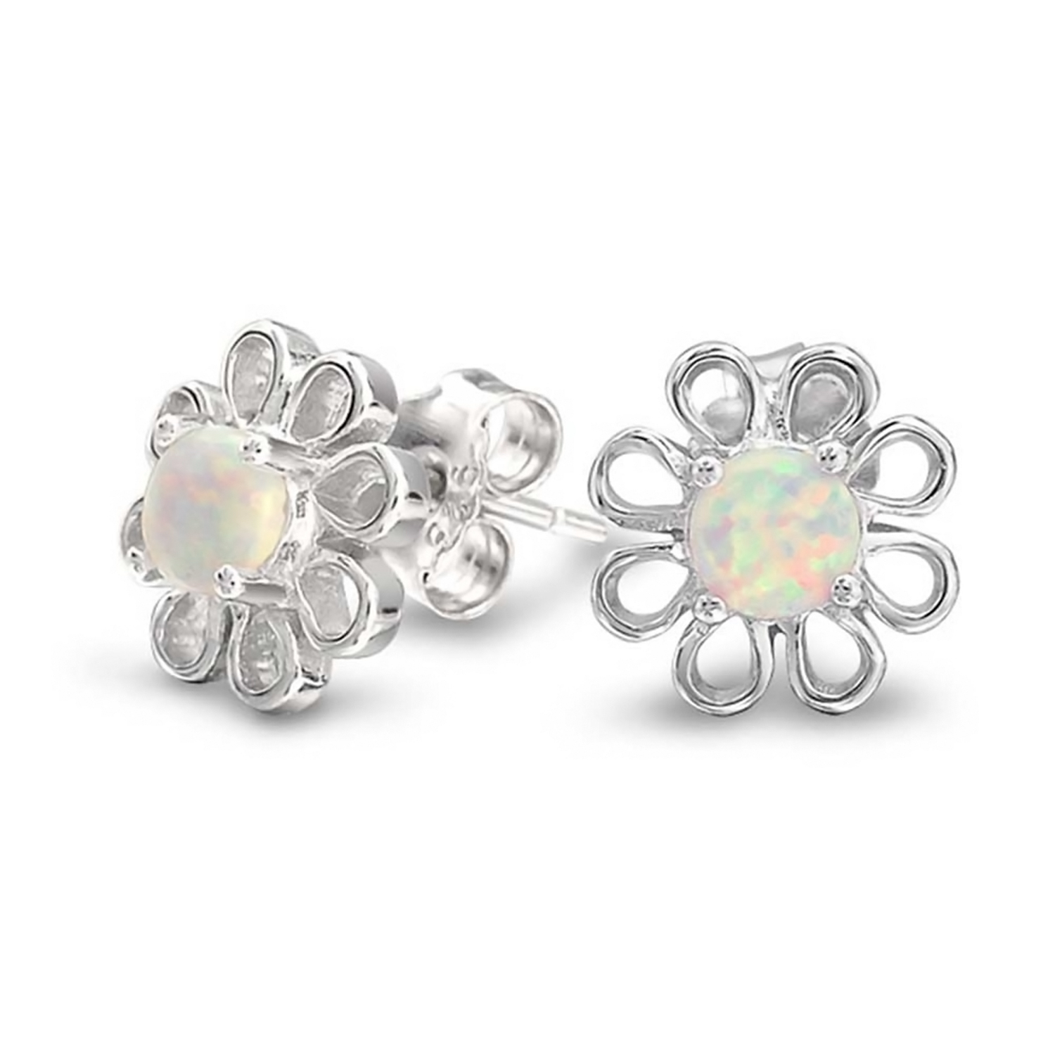 925 Sterling Silver Yes No Stud Earrings So Chic Jewels