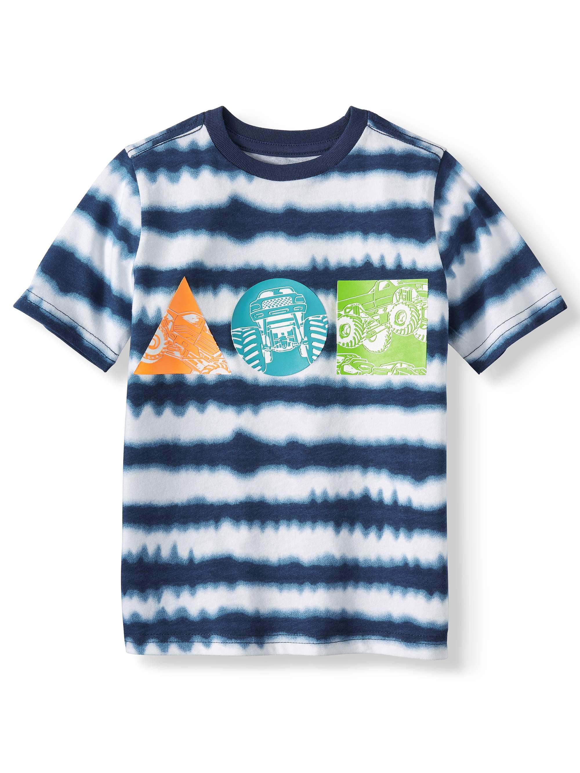 Short Sleeve Tie Dye Graphic Tee (Little Boys & Big Boys)