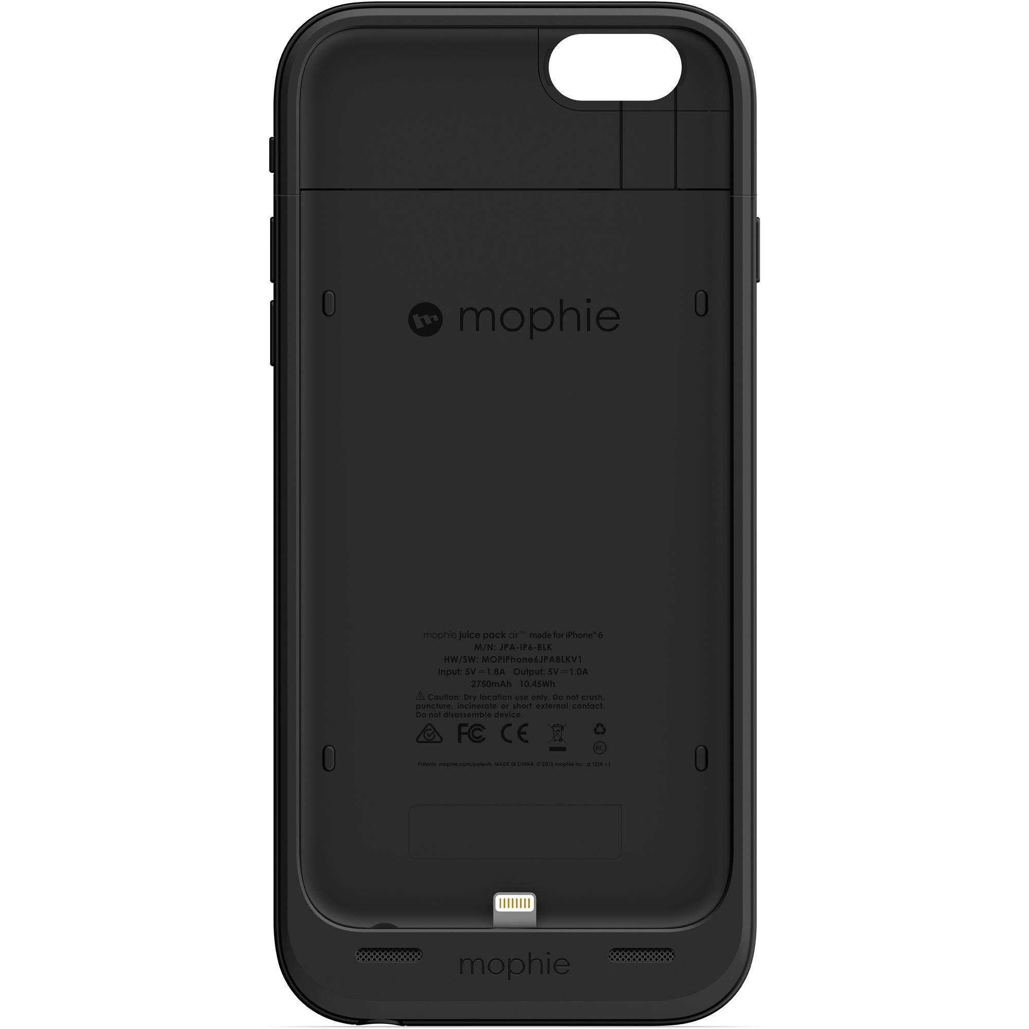 best website 358d0 abcba Mophie Juice Pack Reserve iPhone 6/6s 1,840mAh, Black