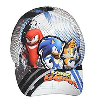 Sonic the Hedgehog Sonic /& Friends Kids//Youth New 692847 Baseball Cap