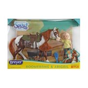Boomerang & Abigail Gift Set Classics (Spirit Riding Free) Horse by Breyer 9204 by Breyer