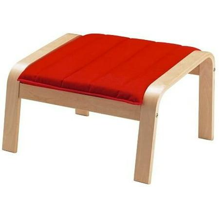 Red Birch Veneer (Ikea Ottoman, birch veneer, Ransta red 20204.81723.1030 )