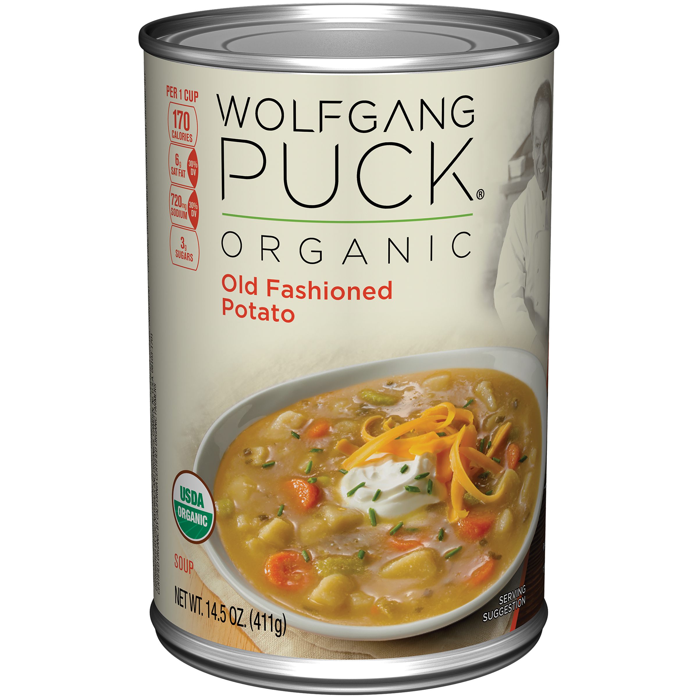 Wolfgang Puck Organic Old Fashioned Potato Soup 14.5oz