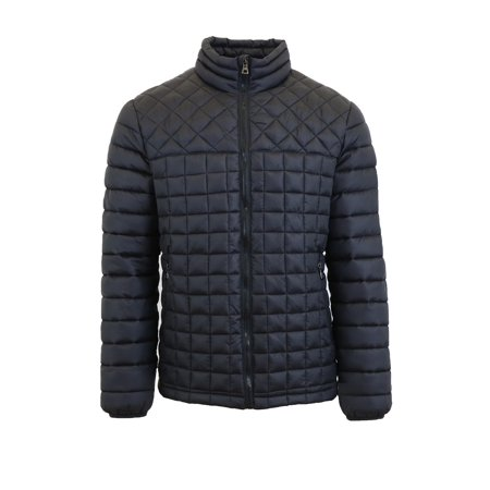 Mens Quilted Puffer Jacket