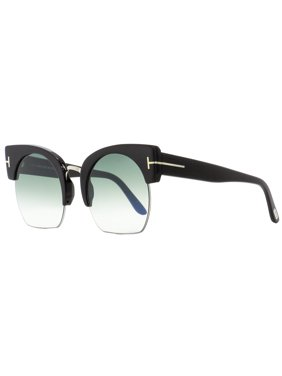 d37cc82d7b Product Image Tom Ford Oval Sunglasses TF552 Savannah-02 01W Black Palladium  55mm FT0552