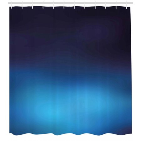 Navy Shower Curtain, Ombre Style Deep Sea Ocean Underwater Themed Digital Colored Graphic Design Art Print, Fabric Bathroom Set with Hooks, Dark Blue, by Ambesonne](Ocean Themed Classroom)