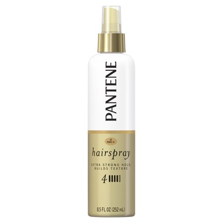 Pantene Pro-V Level 4 Extra Strong Hold Texture-Building Non-Aerosol Hairspray, 8.5 fl