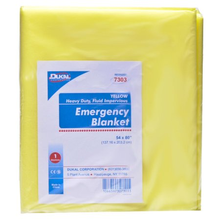 - Dukal Emergency Blankets, Disposable 10 Counts MS-80800
