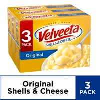 Velveeta Original Shells & Cheese, 3 ct - 36 oz Package