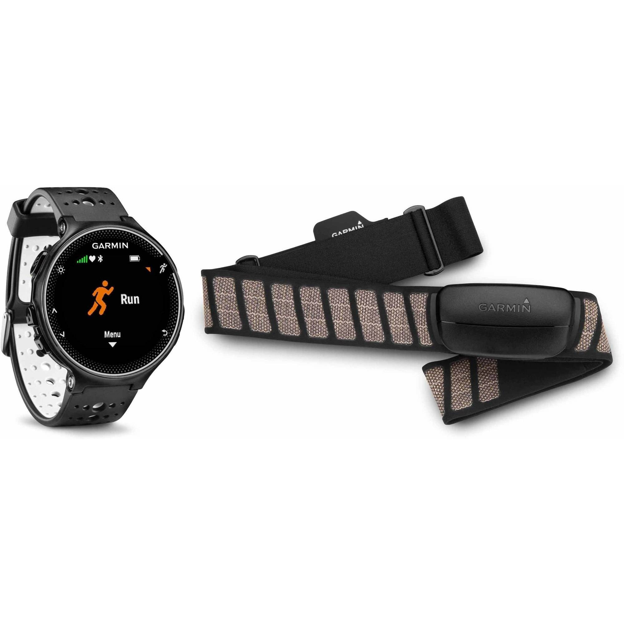 Garmin Forerunner 230 GPS Running Watch Black/White 010-03717-42