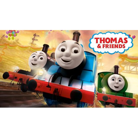 THOMAS AND FRIENDS TRAIN edible cake image frosting sheet decoration cake topper