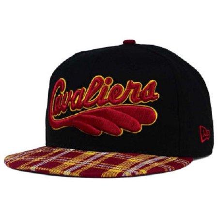Cleveland Cavaliers Nba New Era 9Fifty   Team Plaid   Snapback Hat