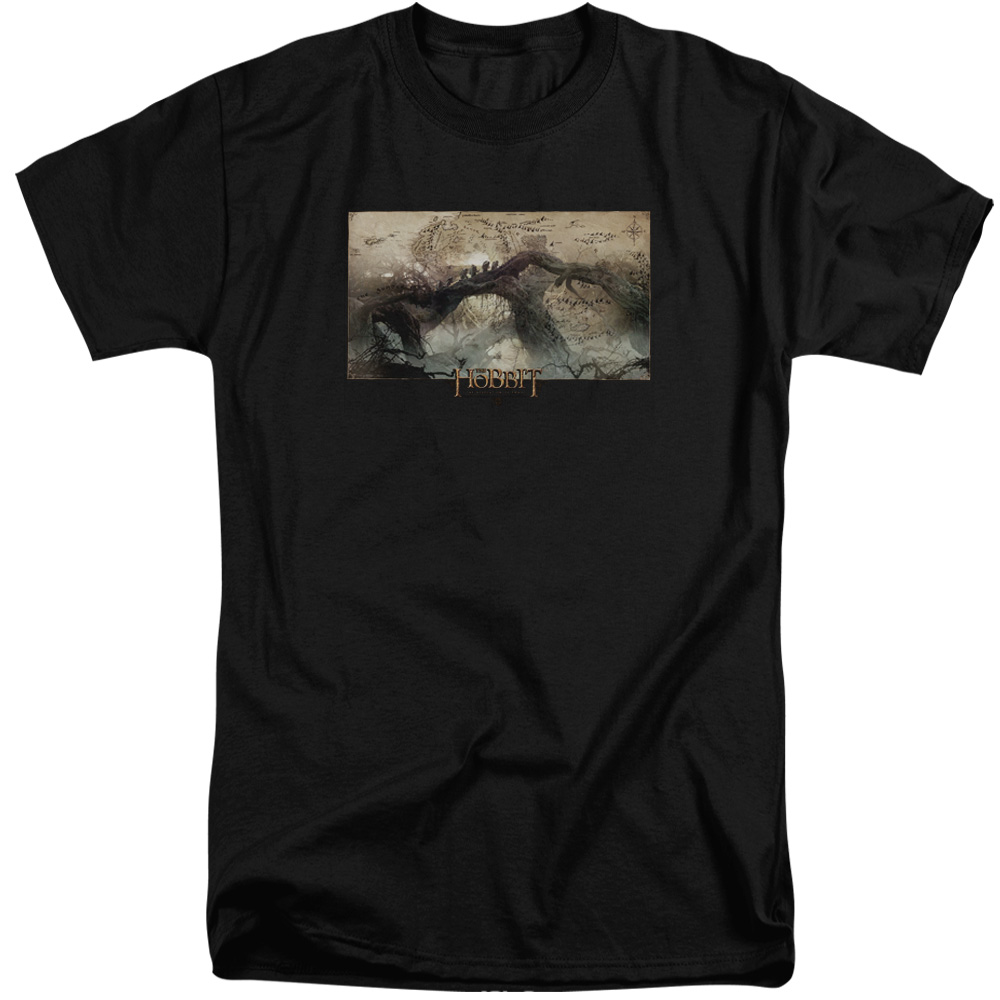 Hobbit Epic Journey Mens Big and Tall Shirt