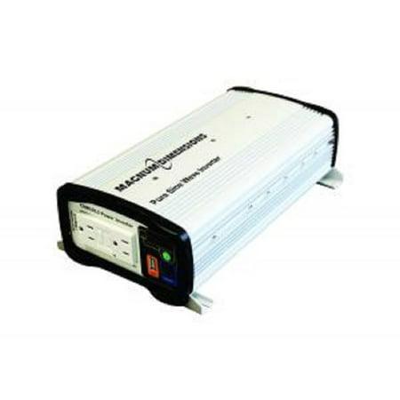 Control Pure Sine Wave Output - Inverter, 1000W, 12V, Pure Sine Wave