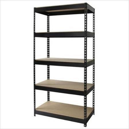Whalen Heavy Duty 5 Shelf Storage Rack