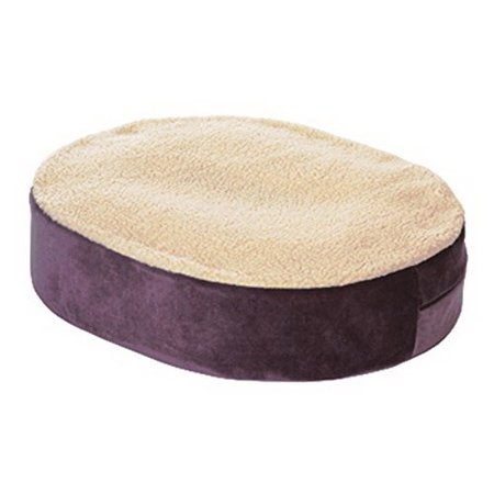Essential Medical Supply Donut Cushion with Gel Insert and Fleece Cover, 18