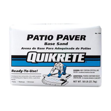 Quikrete 7790199 50 lbs Patio Paver Brown Base