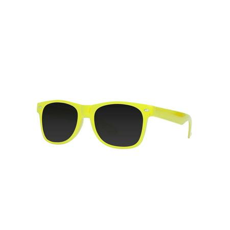 Gravity Shades Horn-Rimmed Tint (Dark Tint Wayfarer Sunglasses)