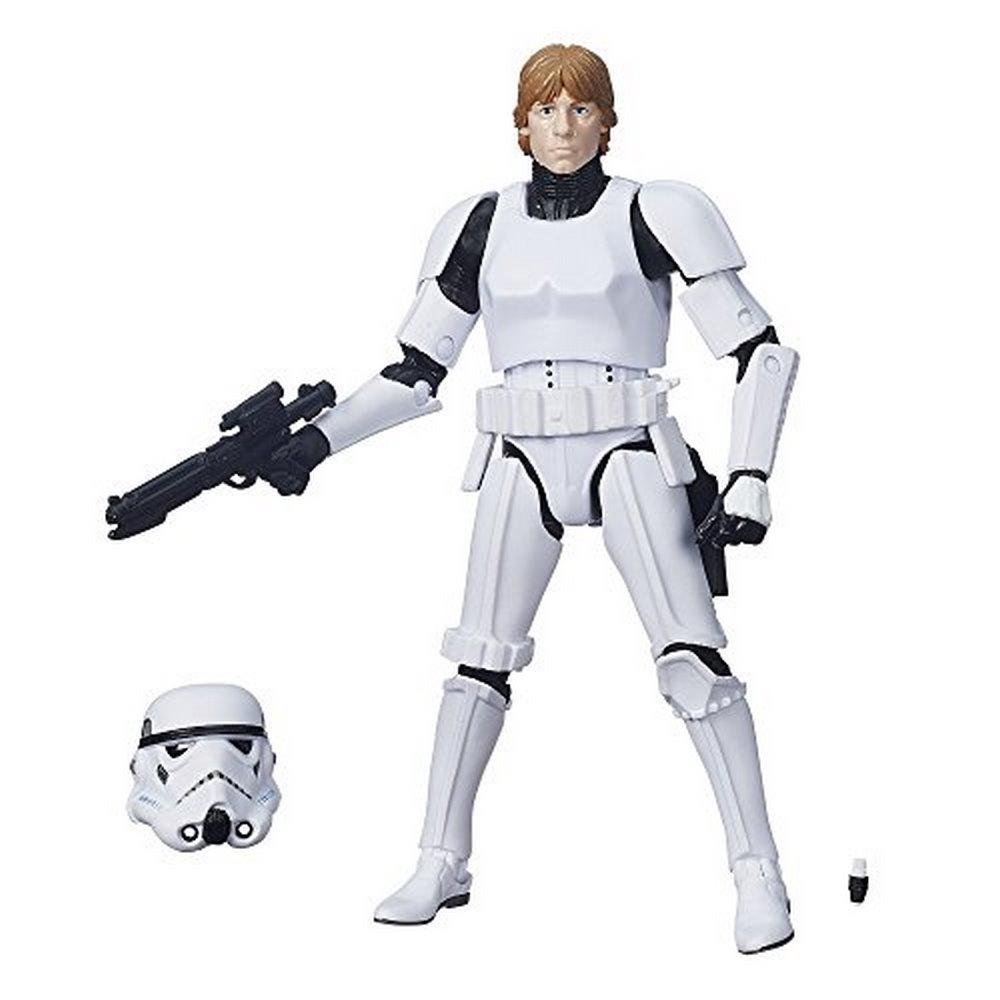 STAR Wars Nero Serie Luke Skywalker WALMART esclusivo