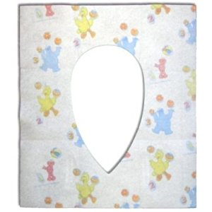 Neat Solutions Potty Topper Disposable Toilet Seat Cover, Sesame Street (Pack of 20)