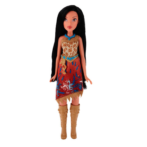 Disney Princess Royal Shimmer Pocahontas Doll by Hasbro