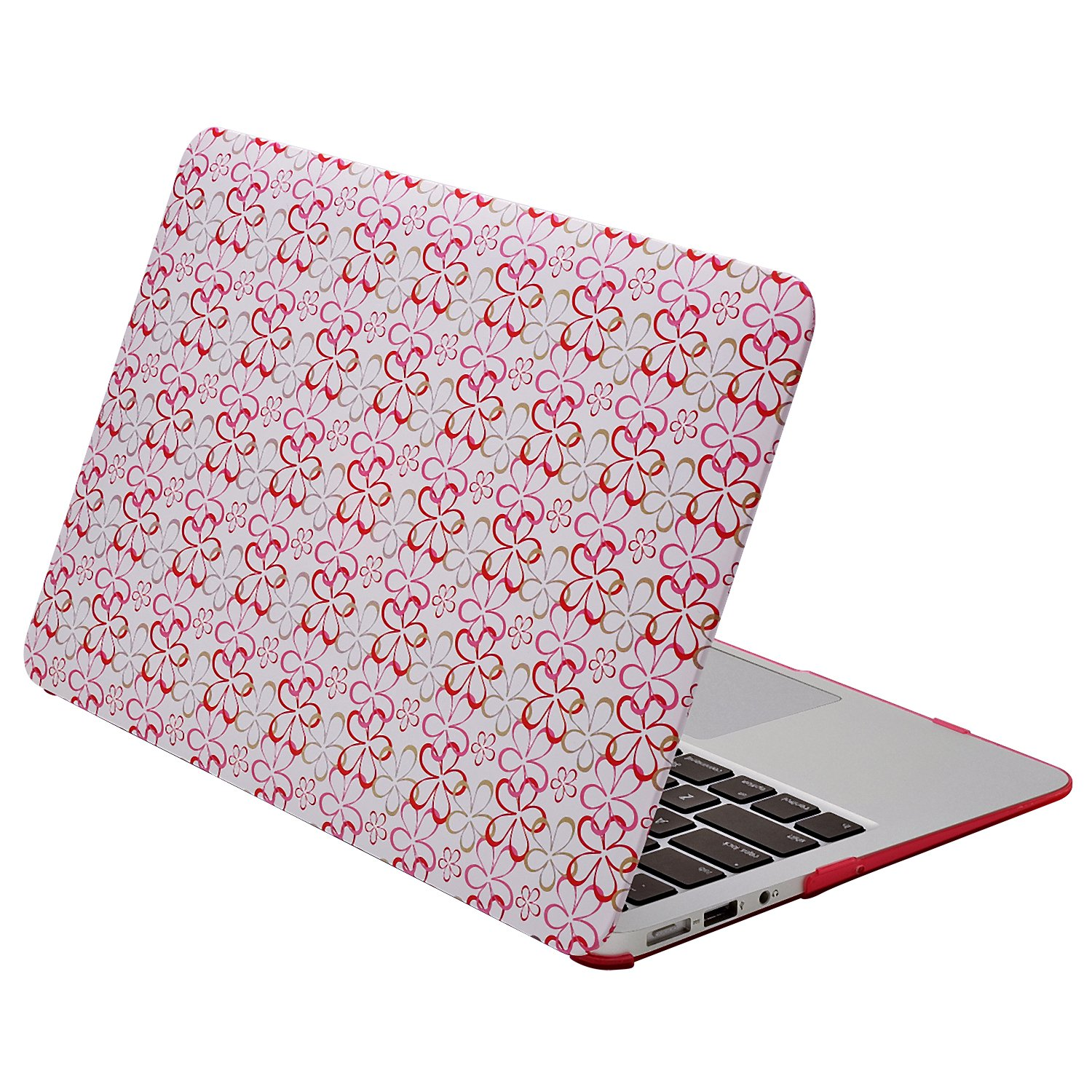 Aduro Macbook Air 11 SoftTouch Cover with Matching Silicone Keyboard Cover (Flower, AMA11-FLW-CV)