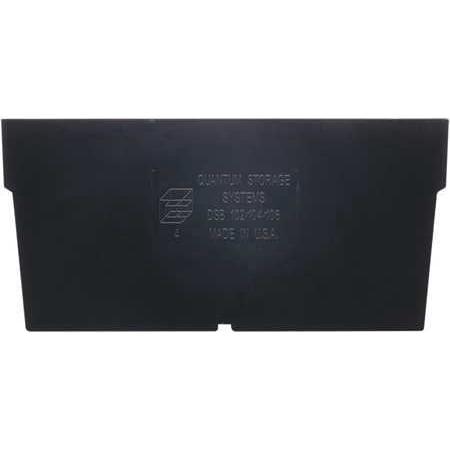 Shelf Bin Divider (QUANTUM STORAGE SYSTEMS Shelf Bin Divider, 6 5/8 W,PK50 DSB102/104/106)