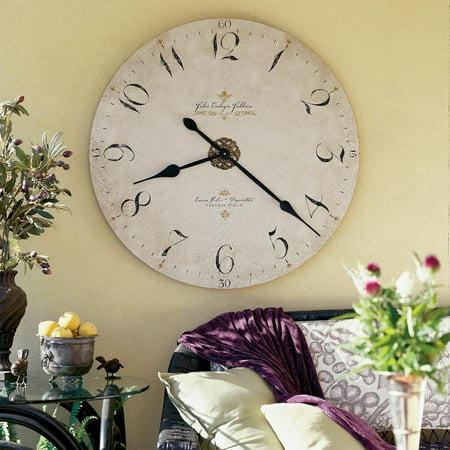 Howard Miller Enrico Fulvi; 32 Inch Wall Clock