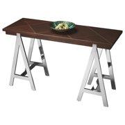 Butler Maxim Leather & Metal Console Table