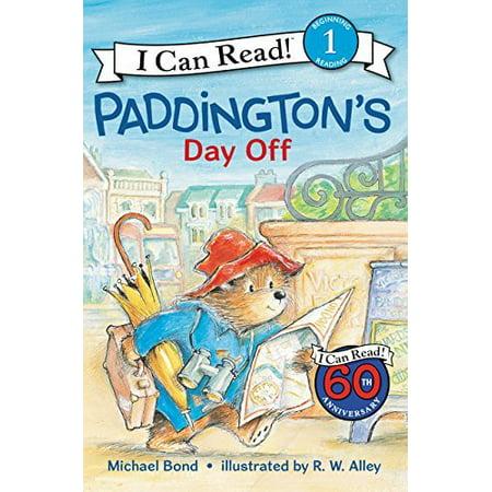 Paddington's Day Off (I Can Read, Level 1) - image 1 de 1