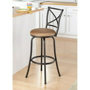 """Mainstays 29"""" Swivel X-Back Hammered Bronze Bar Stool by Cheyenne Products"""