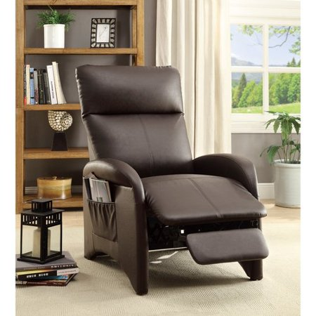 Ebern Designs Centers High Back and Side Pocket Manual Recliner High Back Recliner