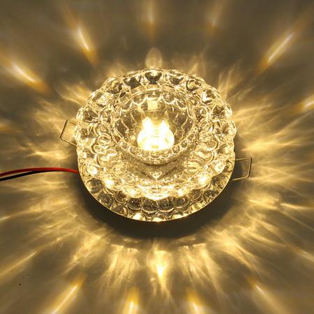 3W Chandelier, Modern Crystal LED SMD Ceiling Light Fixture Pendant Lamp Lighting For Living Room Store Bars Lighting and Decoration Energy-saving - image 2 of 7