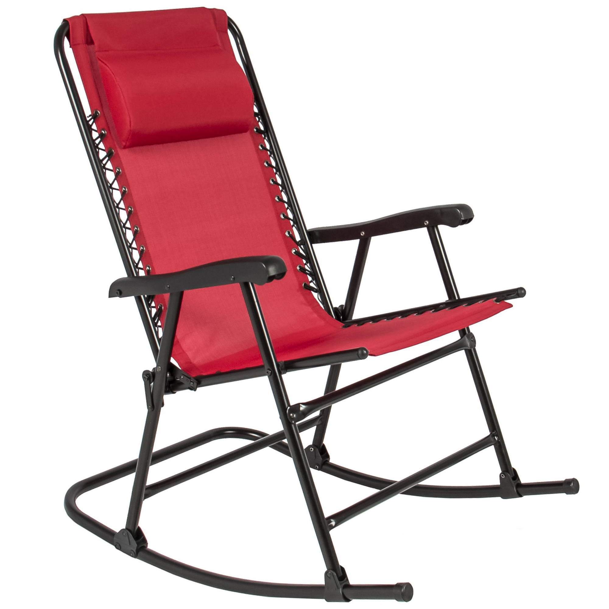 Best Choice S Foldable Zero, Red And Black Folding Patio Chairs