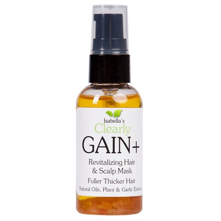 Isabella's Clearly GAIN+, Extra Strength Hair Growth Oil, Natural and Effective Hair Loss Treatment for Men and
