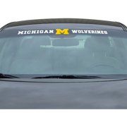 "Michigan Wolverines 34"" Vinyl-Coated Windshield Decal"