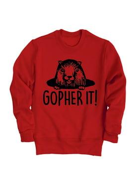 Gopher It with Gopher-Toddler Crew Fleece