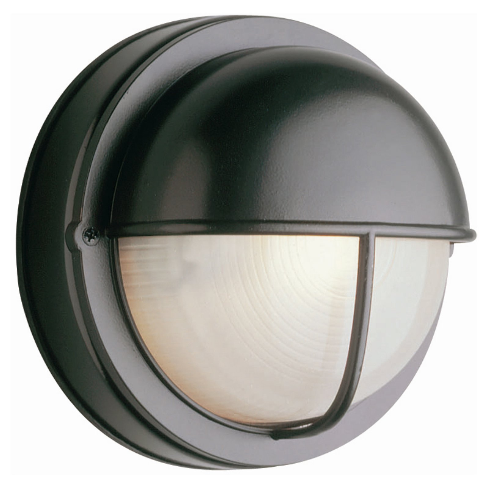 Trans Globe TGL 4120 Round Seamed Bulkhead Outdoor Light - 8W in.
